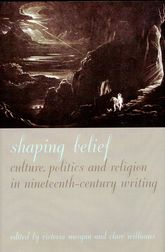 Shaping BeliefCulture, Politics, and Religion in Nineteenth-Century Writing